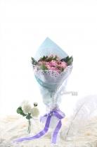 玫瑰 + 小玫瑰+襯葉